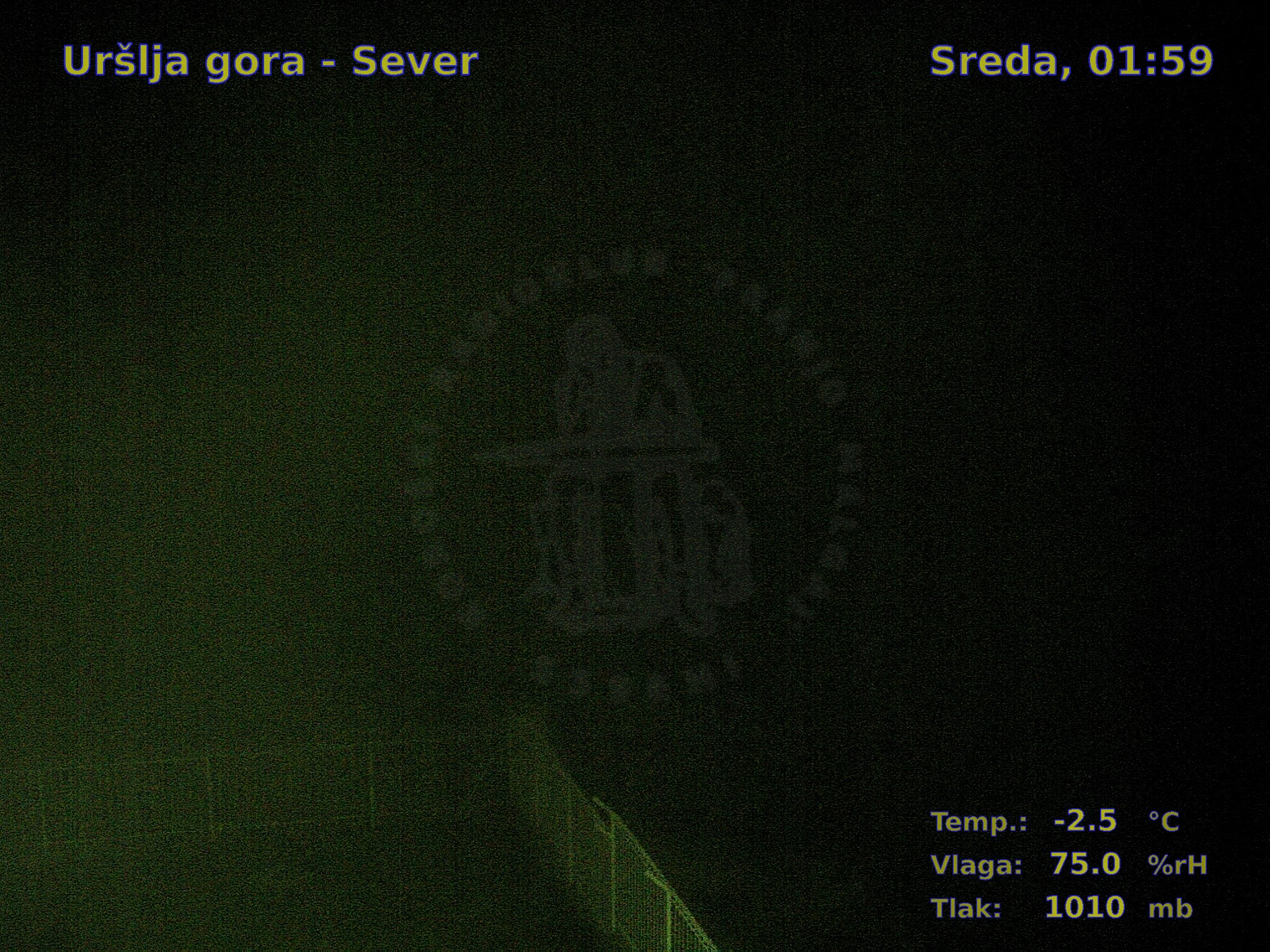 Uršlja gora-Sever, 01:00