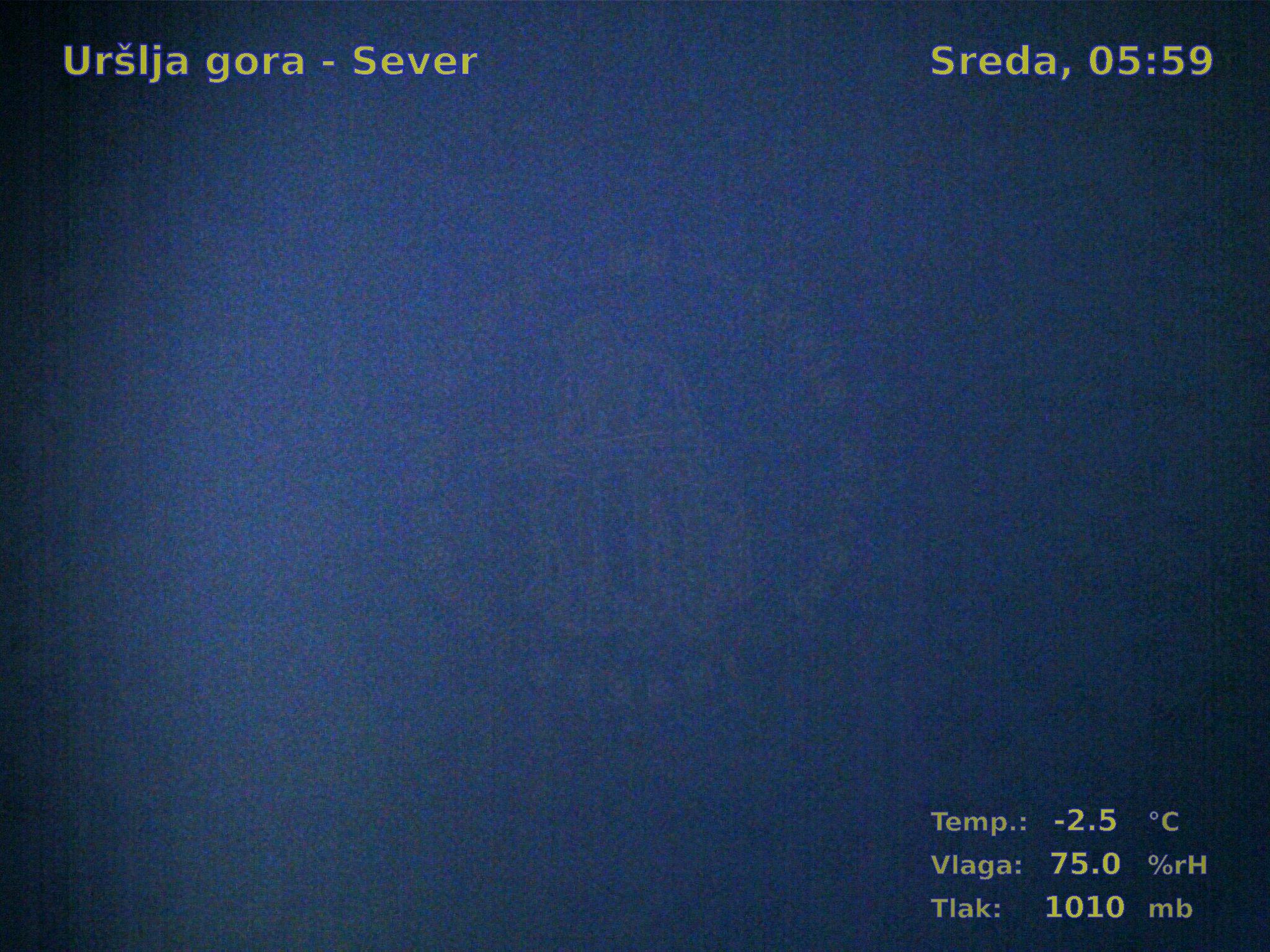 Uršlja gora-Sever, 05:00