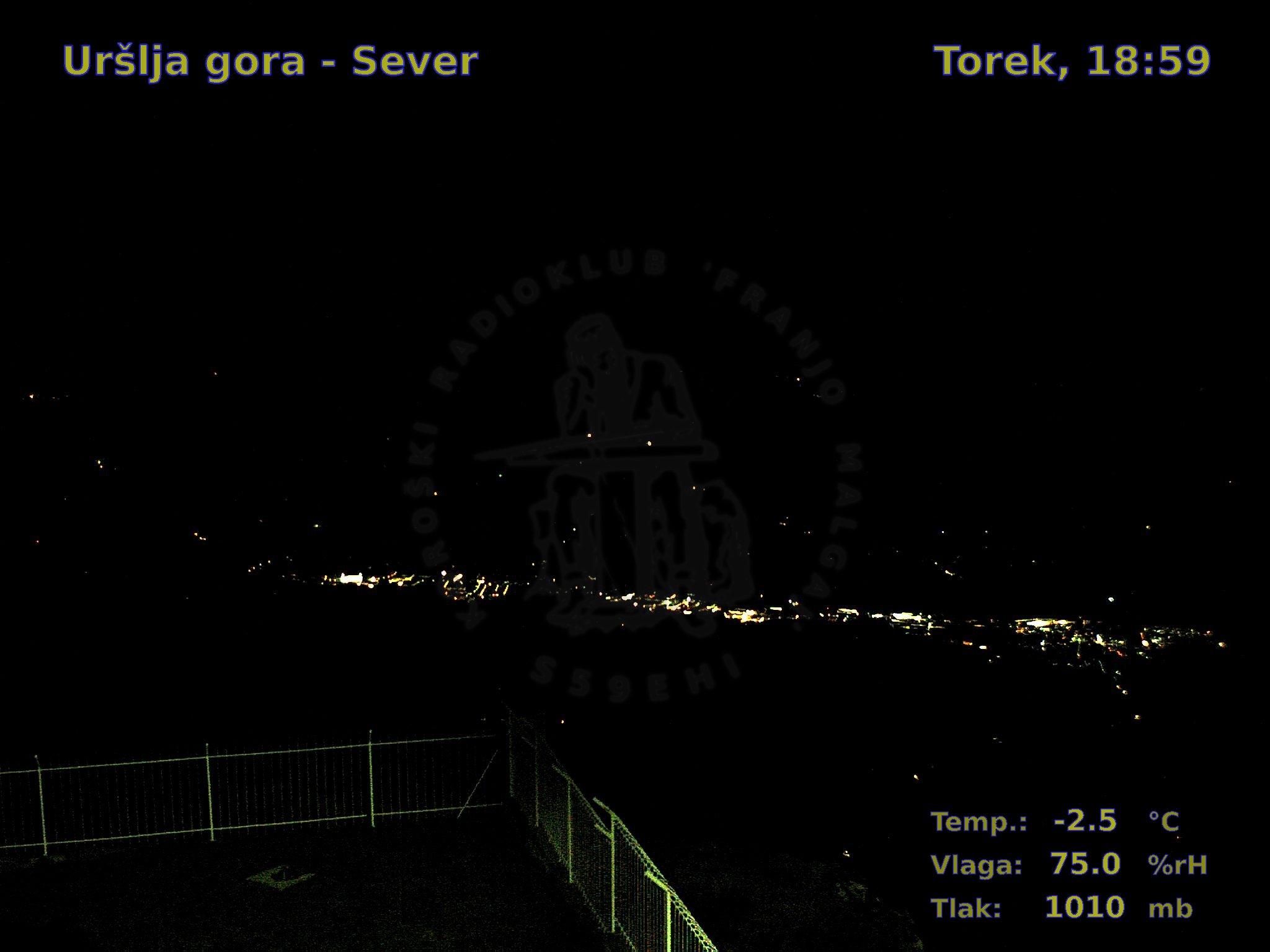 Uršlja gora-Sever, 18:00